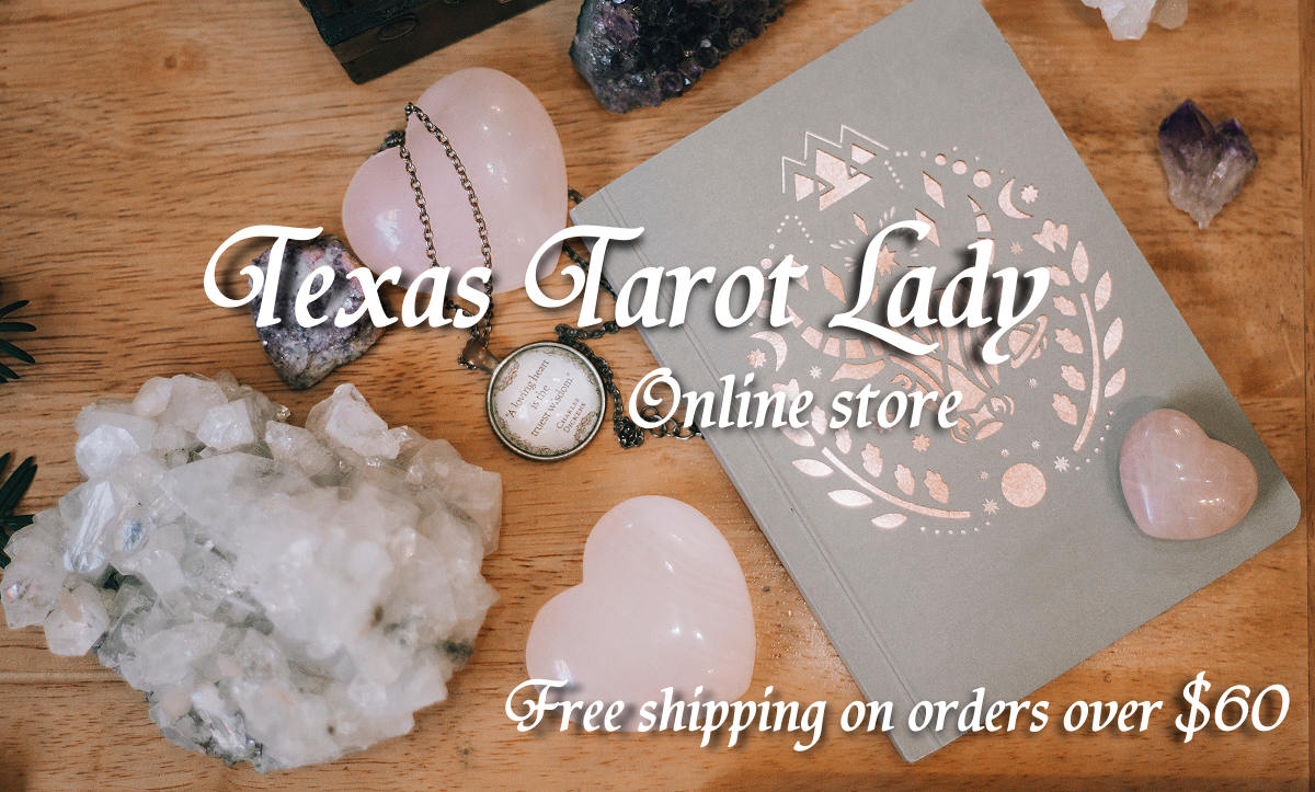 About Us : Texas Tarot Lady Online Shop, Tarot and oracle